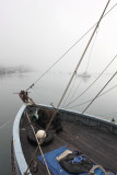 Bow to the Fog - Morro Bay, California