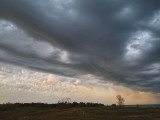 Stormy Sky Over Dunes- Kohler Andrae State Park - Wisconsin
