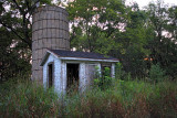 Old Shed and Silo - Rural Wisconsin