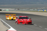 Ferrari F430 GT. Porsche RS Spyder