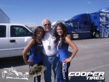 Me and the Cooper Tire Girls