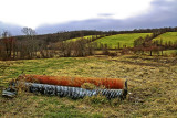 Pipes in Field