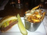 Burger Up and Truffle Fries