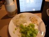 Chop onions,garlic, celery