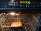Bake roux until dark brown