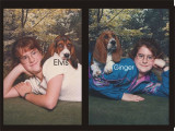 Katie and Bassets