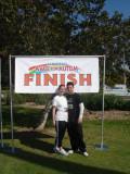 Katie's first marathon