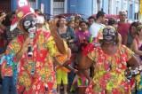 Pré-Carnaval 2008: Teatro Mamulengo:  Recife Antigo  100_2819.JPG