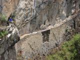 Narrow bridge Machu Picchu Peru.jpg