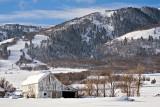 White Barn Near Nordic Valley