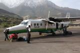 Jomoson airport (2735 m)