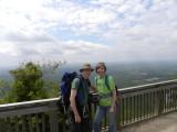 Pilot Mountain Climbing April 21, 2012
