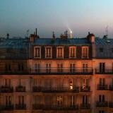 Dernier soir à Paris, vue de la chambre d'hôtel