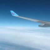 En vol vers Montréal