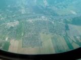 C'est là que j'habite à Beloeil (flèche rouge)