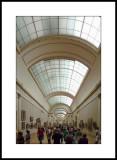 Palais du Louvre : la grande galerie