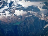 Vol au-dessus des Rocheuses / Flying over the Rockies