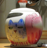 Kitty Sugar Jar