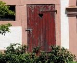 Door with a Heart
