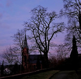 Church in the Twilight