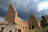 Dark Clouds above the Castle Ruin