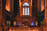 Liverpool Cathedral looking East to-West