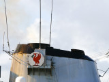 HMS Liverpool -  the crazy red chicken