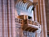 The organ loft above the Choir