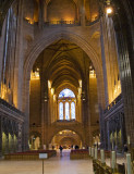 Liverpool Cathedral looking East to West