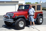 Harv and the new Jeep