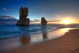Gibson's Beach Sunset