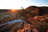 Glen Helen Gorge Sunrise