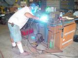 MORE WELDING BEING DONE