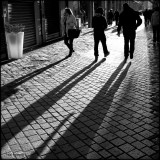 shadows at late afternoon