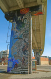Fresques fresco Autoroute Dufferin / et Murales ( Québec )