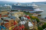 Crown Princess ( Pavillon ) Bermudes Passagers  3,872Passagers - Port de of Québec