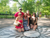 Strawberry Fields - Central Park, N.Y.C.