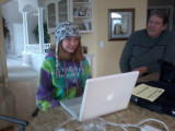 Courtney Steve and her birthday computer.jpg
