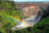 The Mighty Victoria Falls in Livingstone, Zambia