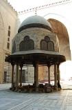 Inside Sultan Hasan Mosque