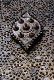 A door knob at Ahmed Ibn Toulon Moaque