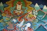 Punakha Dzong - Mural