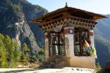 On route to Taktsang Monastery (Tigers Nest)