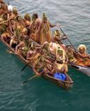 Solomon Islands Langa Langa Lagoon Canoes