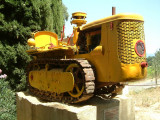 Château Maucoil - Old tractor.JPG