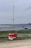 Cancale-Sailboat on the beach.JPG