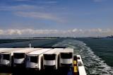 O/B of the Stena Hollandica leaving Hook of Holland