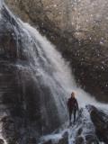 Miguel en la cascada del Eriste IV