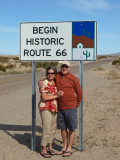 Patti and Andrew begin Route 66