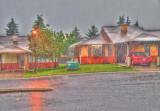 Summer Evening Rain